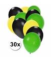 Jamaicaanse ballonnen pakket 30x