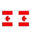 Polyester vlaggenlijn Canada