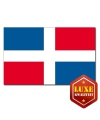 Dominicaanse vlag goede kwaliteit