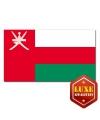 Omaanse vlaggen goede kwaliteit