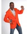 Colbert heren oranje