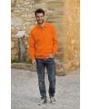 Oranje polo trui voor heren