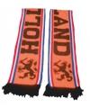 Oranje supporters sjaal 140 cm enkel gedrukt