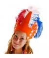 Carnavals hoofdtooi oranje
