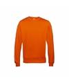 Oranje heren sweater