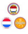 30 bierviltjes in Holland thema
