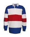 Rugbyshirt in Holland kleuren