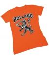 Nederland supporters t-shirt voor dames