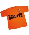 Holland shirt oranje met de tekst Holland