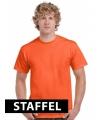 Oranje t-shirts