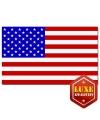 Luxe Amerikaanse vlag