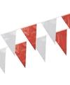 Rood witte vlaggetjes