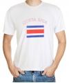 Costa Rica vlag t-shirts