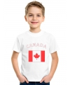 Canadese vlag t-shirts voor kinderen