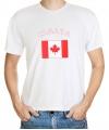 Canadese vlag t-shirt