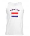 Mouwloos t-shirt met Nederlandse vlag